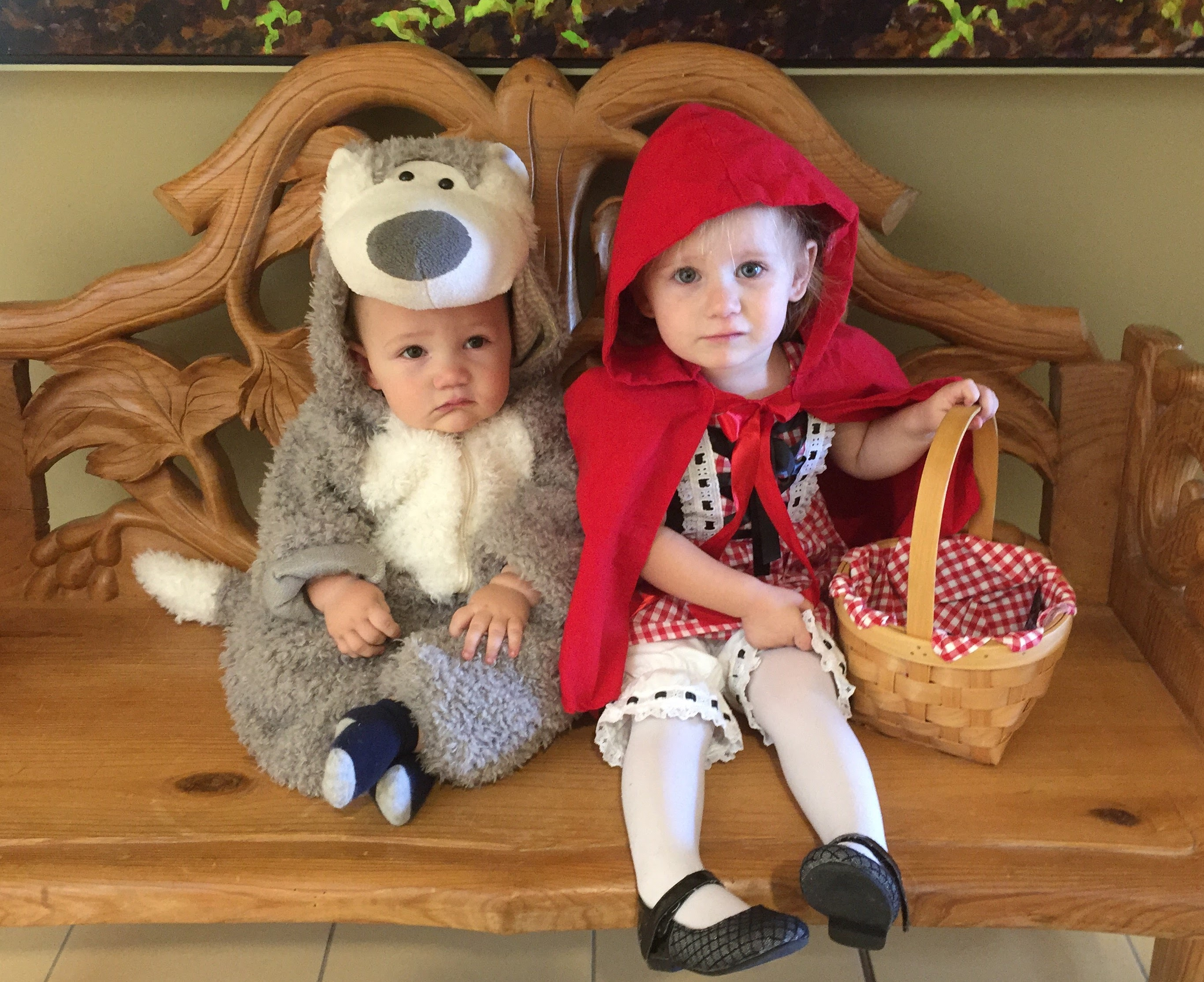 little red riding hood & the big bad wolf (a.k.a. princess paradise bear)